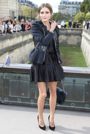 Olivia Palermo Peplum Top and Voluminous skirt